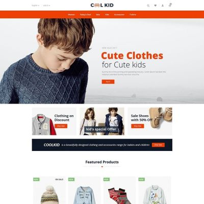 Coolkid Prestashop Theme
