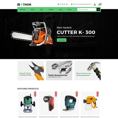garden tool auto car prestashop theme