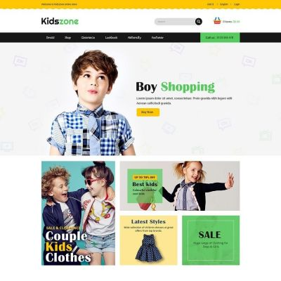 Kidszone Kids Prestashop Theme