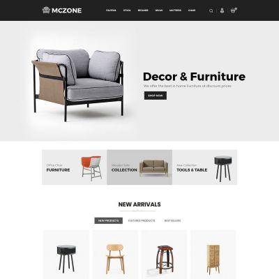 maczone furniture  sofa prestashop theme