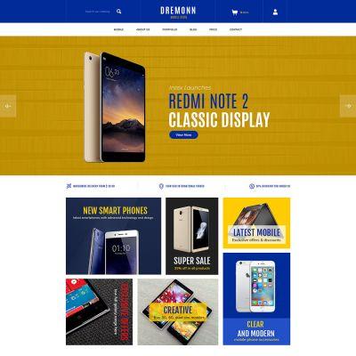 Mobile electronics digital prestashop theme