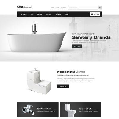 sanitary bathroom prestashop theme