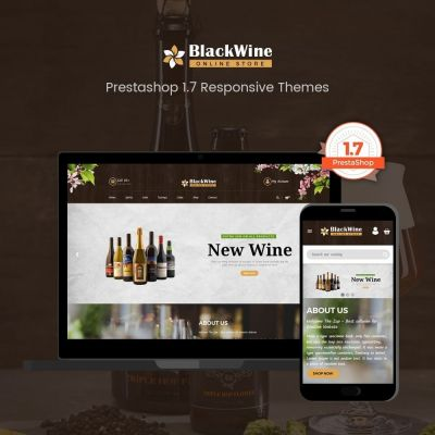 Wine Stores prestashop theme